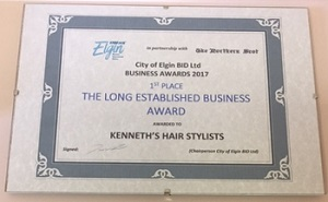 Kenneth's Hairdressers Elgin Moray